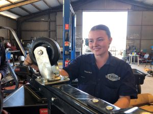 Rhianna Poulton light vehicle apprenticeship